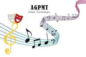 Logo de l'association AGPMT association Gravelinoise pour la promotion de la musique et du théâtre