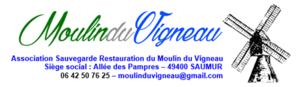 Logo de l'association ASSOCIATION SAUVEGARDE RESTAURATION DU MOULIN DU VIGNEAU