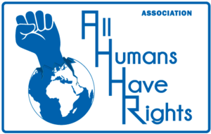 Logo de l'association ALL HUMANS HAVE RIGHTS