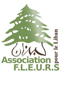 Logo de l'association F.L.E.U.R.S pour le Liban