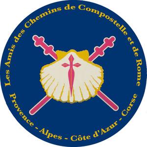 Logo de l'association ASSOCIATION PROVENCE ALPES COTE D'AZUR CORSE DES AMIS DES CHEMINS DE SAINT JACQUES DE COMPOSTELLE ET DE ROME