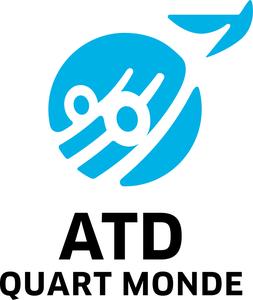 Logo de l'association ATDQM - AGIR TOUS POUR LA DIGNITE DU QUART MONDE
