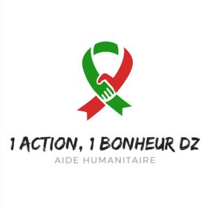 Logo de l'association 1 action 1 bonheur dz