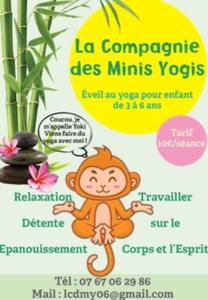 Logo de l'association La compagnie des Minis Yogis