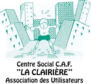 """Logo de l'association Association Des Utilisateurs du Centre Social Caf """"La Clairière"""""""