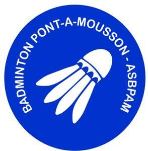 Logo de l'association ASSOCIATION SPORTIVE BADMINTON PONT-A-MOUSSON (ASBPAM)