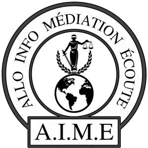 Logo de l'association Allo, Info, Médiation, Ecoute  (A.I.M.E.)