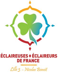 Logo de l'association Eclaireurs et Eclaireuses De France de Lille 3