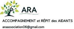 Logo de l'association ARA - ACCOMPAGNEMENT ET REPIT DES AIDANTS