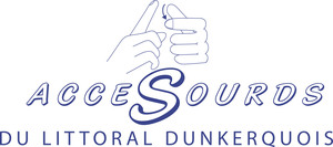 Logo de l'association ACCESOURDS DU LITTORAL DUNKERQUOIS