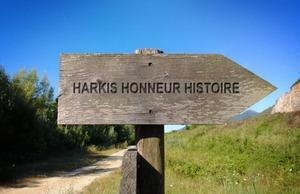 Logo de l'association 3 H - HARKIS, HONNEUR, HISTOIRE