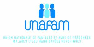 Logo de l'association UNAFAM -UNION NATIONALE DE FAMILLES ET AMIS DE PERSONNES MALADES ET/OU HANDICAPEES PSYCHIQUES