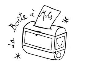 Logo de l'association La Boîte à Mots de la Sauvegarde du Nord