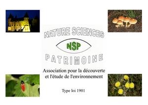 Logo de l'association NATURE SCIENCES PATRIMOINE