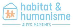 Logo de l'association HABITAT ET HUMANISME DES ALPES-MARITIMES