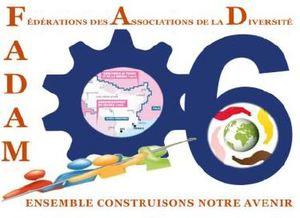 Logo de l'association FADAM - FEDERATION DES ASSOCIATIONS DE LA DIVERSITE DANS LES ALPES-MARITIMES
