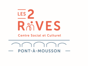 Logo de l'association Centre social Les 2 Rives