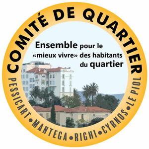 Logo de l'association COMITE DE QUARTIER - PESSICART -  MANTEGA - RIGHI - CYRNOS - Le PIOL