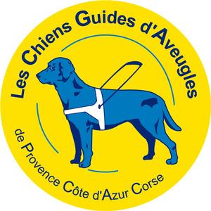 Logo de l'association Les Chiens Guides d'Aveugles de Provence Côte d'Azur Corse