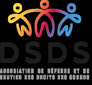 Logo de l'association DSDS (Défense et Soutien des Droits des Sourds)