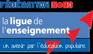 Logo de l'association Ligue de l'enseignement - Fédération du  Nord