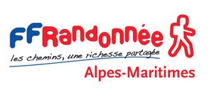 Logo de l'association Fédération française de randonnée des Alpes-Maritimes