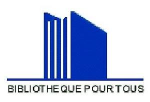 Logo de l'association Bibliotheque pour tous du centre hospitalier d'Angouleme