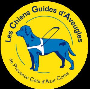 Logo de l'association Les Chiens Guides de Provence Côte d'Azur Corse