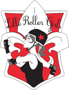 Logo de l'association Lille Roller Girls