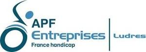 Logo de l'association APF Entreprises