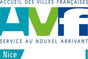 Logo de l'association AVF-  ACCUEIL DES VILLES FRANCAISES NICE