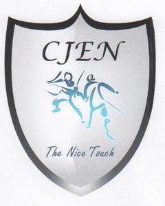 Logo de l'association CERCLE DES JEUNES ESCRIMEURS NICOIS