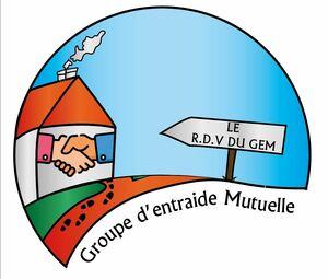 Logo de l'association RDV DU GEM - LE RENDEZ VOUS DU GROUPE D'ENTRAIDE MUTUELLE
