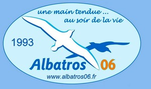 Logo de l'association ALBATROS 06