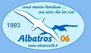 Logo de l'association ALBATROS 06