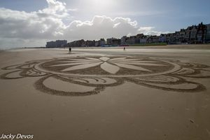 Logo du collectif Dessinons sur la plage