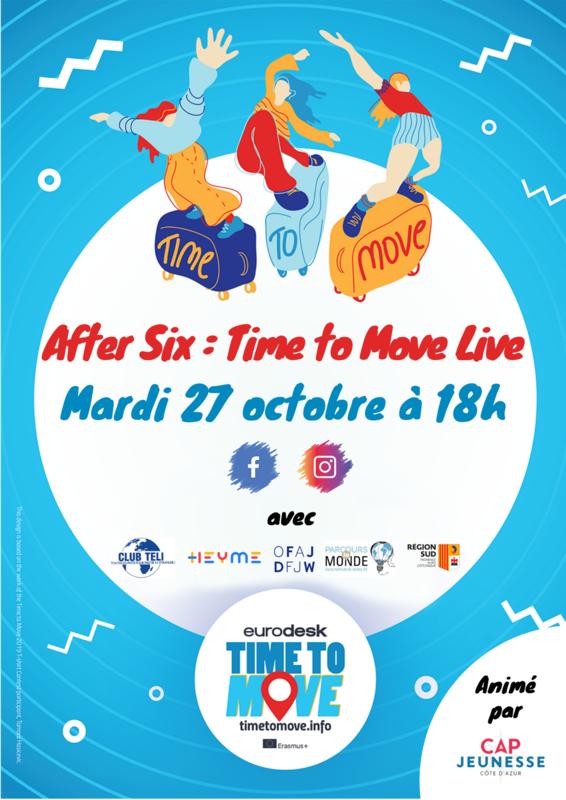 Illustration pour l'événement After Six : Time to Move Live