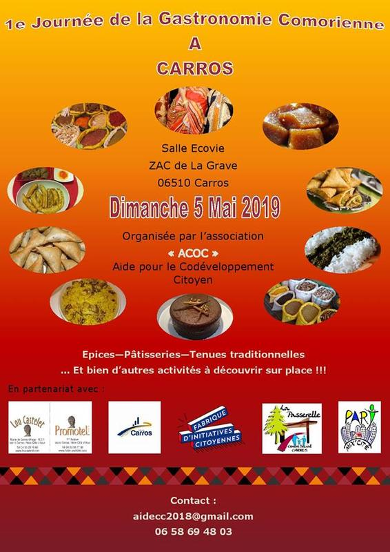 Illustration pour l'événement Journée de la Gastronomie comorienne