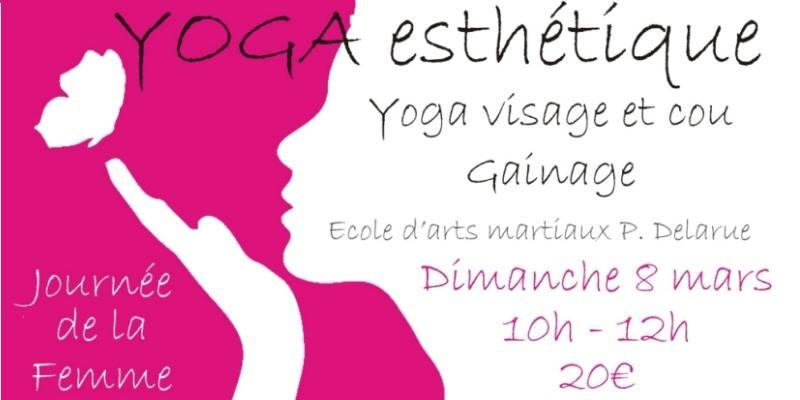 Illustration pour l'événement Atelier de YOGA Esthétique pour la Journée de la Femme