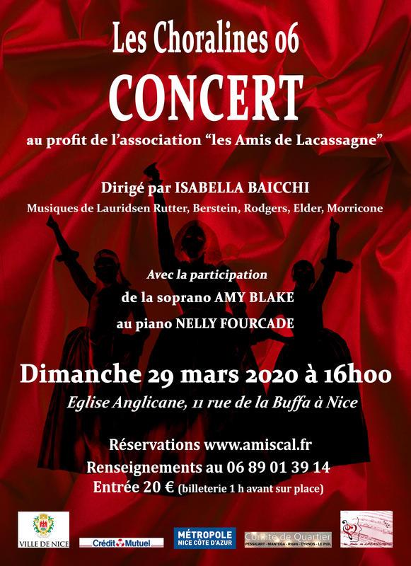 Illustration pour l'événement L'ensemble vocal féminin les Choralines 06 avec Amy BLAKE