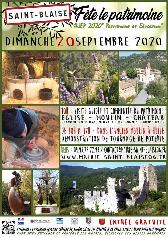 Illustration pour l'événement Visite commentée du patrimoine Saint-Blaisois.
