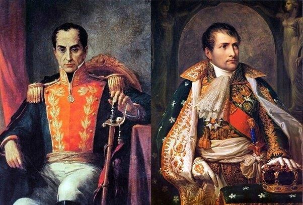 Illustration pour l'événement Conférence : Bonaparte et Bolivar
