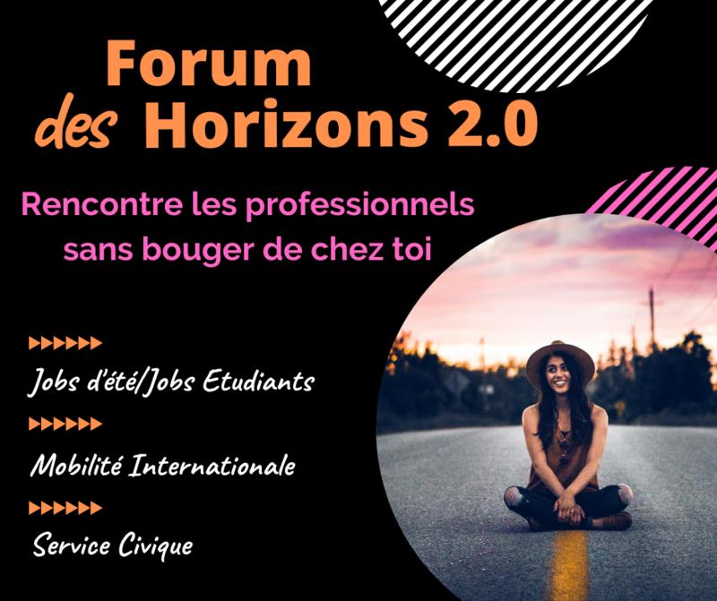 Illustration pour l'événement Forum des Horizons 2.0