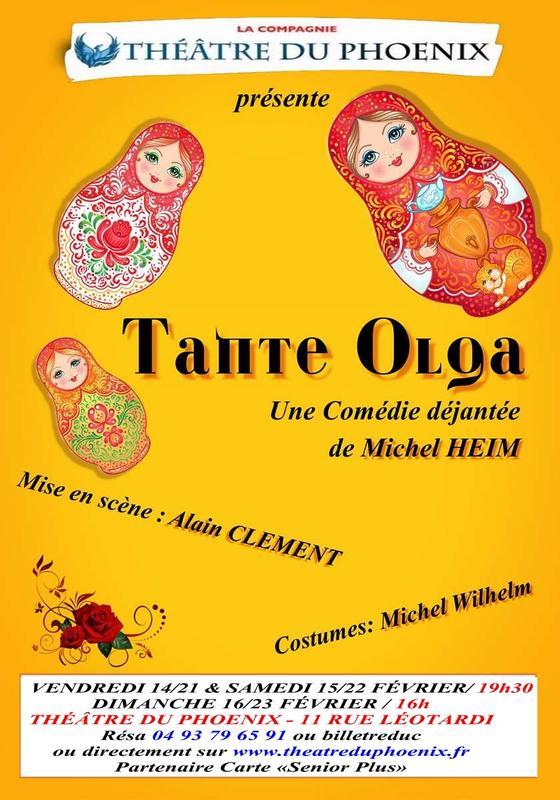 Illustration pour l'événement Tante Olga