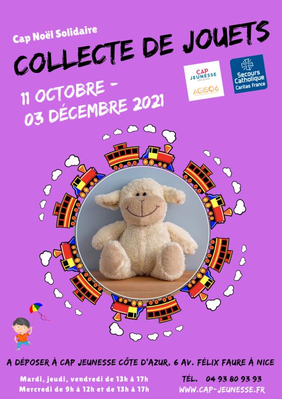 Illustration pour l'événement Collecte de jouets 2021