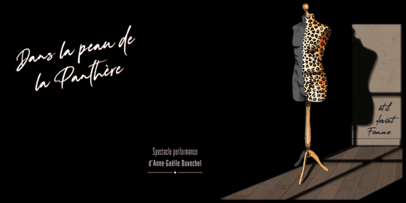 Illustration pour l'événement IN&OUT - Théâtre : DANS LA PEAU DE LA PANTHÈRE