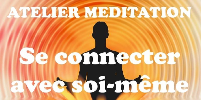 """Illustration pour l'événement Atelier de méditation """"Se connecter avec soi-même"""""""