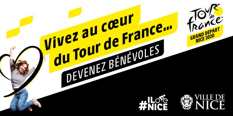 Illustration pour la mission Grand Départ du Tour de France 2020 à Nice