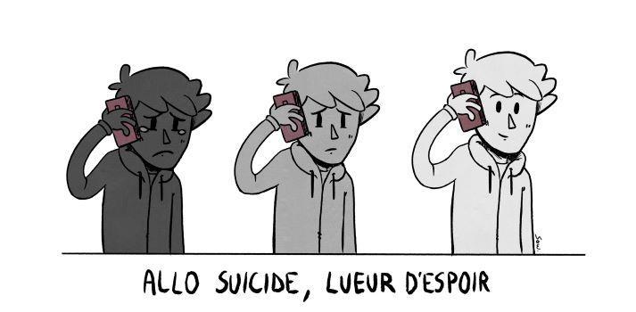 Illustration pour la mission bénévole écoutant prévention suicide